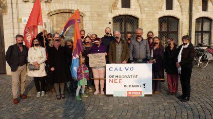 """PVDA protesteert tegen """"spreekverbod"""" in gemeenteraad"""