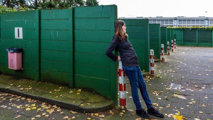 Bubbles bij de afwerkplekken nabij de Europalaan: ,,Het is goed, als de tippelzone blijft bestaan.''