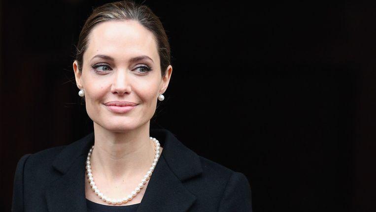 Angelina Jolie, in april 2013. Beeld getty