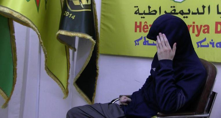 De Nederlandse Syriëganger Abdou, geïnterviewd voor Trouw en 'EenVandaag'. Beeld EenVandaag