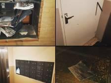 Zwaar vuurwerk blaast brievenbus flat weg in Tiel