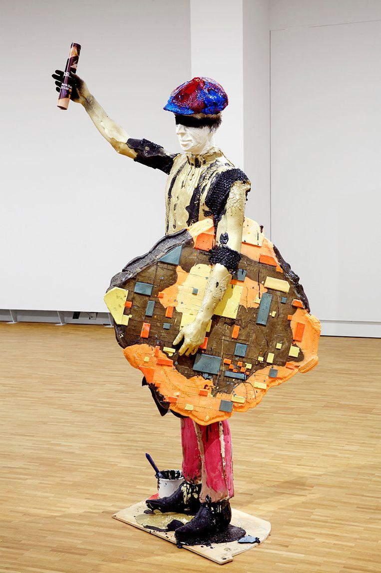 Folkert de Jong - The Mover (Theo), 2017 Beeld Galerie Fons Welters