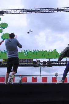 Duck Hunt in real life @ Lowlands