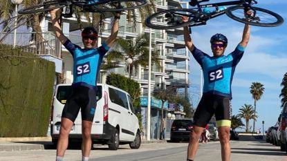 """Swa en Olie fietsen in één ruk van Mont Ventoux naar Bonheiden: """"Hopen dat de adrenaline ons wakker houdt"""""""