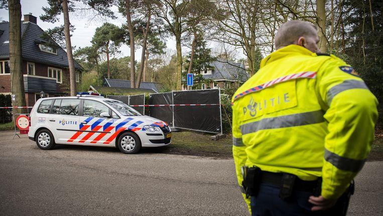 Politie deed na de moord onderzoek bij de woning van Els Borst Beeld ANP