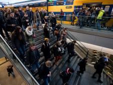 NS en FNV: ook in Brabant 'forse hinder' op spoor door pensioenprotesten