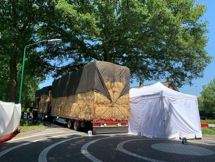 16-jarig meisje om het leven gekomen na botsing met vrachtwagen in Sint-Oedenrode.