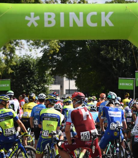 Eerste rit BinckBank Tour finisht in Hulst