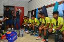 Kickstart FC bereidt zich voor op de wedstrijd tegen SBC.