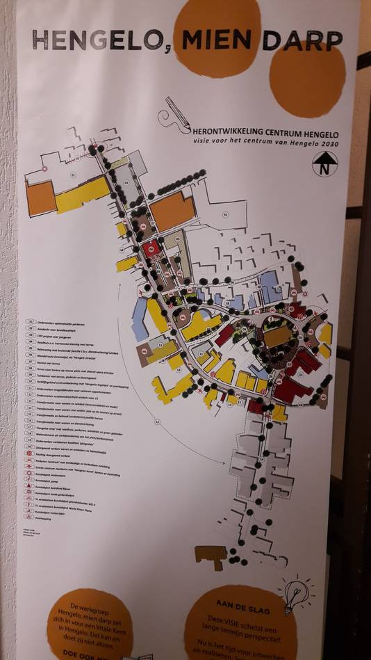 Het plan van Vitale Kernen voor het centrum van Hengelo