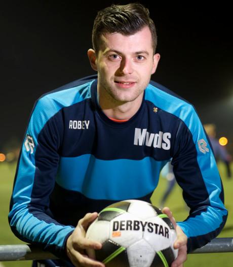 Dongen-captain Mitchell van der Stappen is terug na anderhalf jaar blessureleed