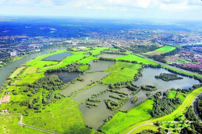 Uiterwaardengebied Meinerswijk in Arnhem-Zuid.