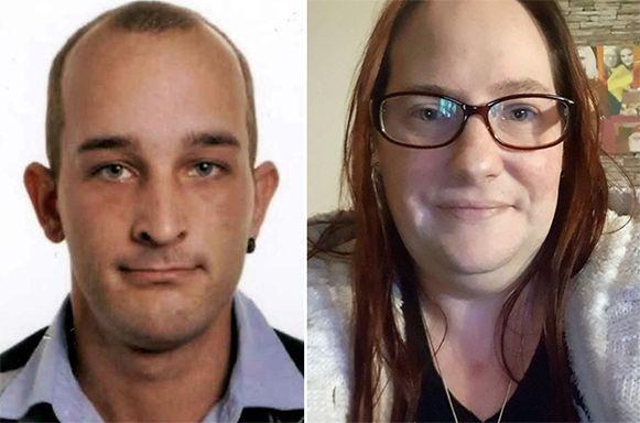Stephen Clement (27) en Sandra Paermentier (40).