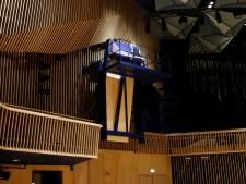 Le piano demesuré de David Klavins: certaines cordes atteignent près de 5m