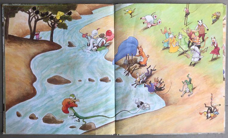 Uit het boek Picknick met taart van Thé Tjong-Khing Beeld RV - Thé Tjong-Khing
