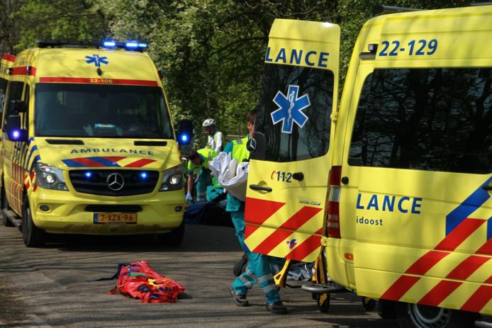 Meerdere gewonden bij ongeluk in Mierlo.