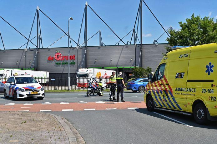 Fietser gewond bij botsing in Breda