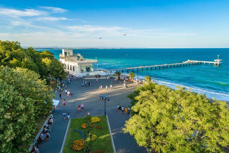 De Sea Garden is een van de populairste parken van Burgas.