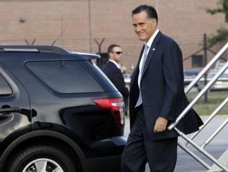 Mitt Romney verstoort huwelijksfoto's