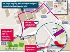 Raad Hardenberg wil snel duidelijkheid over Hessenweg