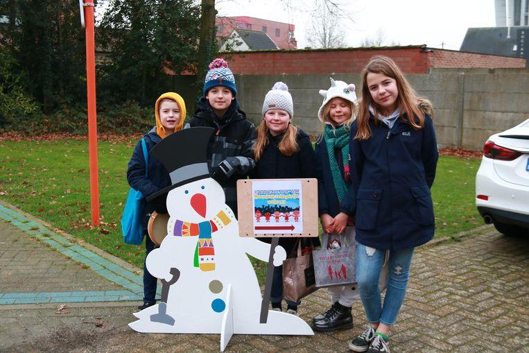 Nieuwjaarzangertjes in Borsbeek.
