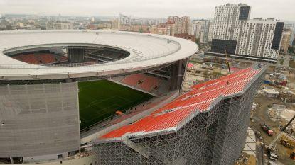 Eerste geslaagde test voor WK-stadion in Ekaterinburg