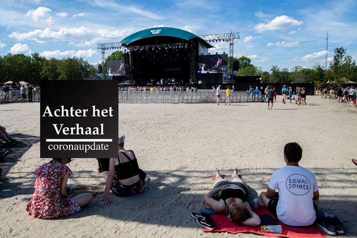 HILVARENBEEK - Bezoekers van het festival Best Kept Secret.