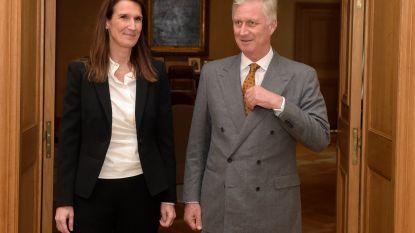 Koning Filip benoemt Sophie Wilmès tot premier