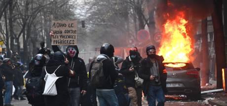 Duizenden in Parijs de straat op tegen politiegeweld: her en der opstootjes