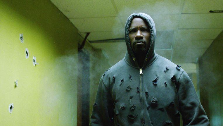 Luke Cage vooral een ode aan de gelaagde Afro-Amerikaanse stedelijke cultuur Beeld Netflix