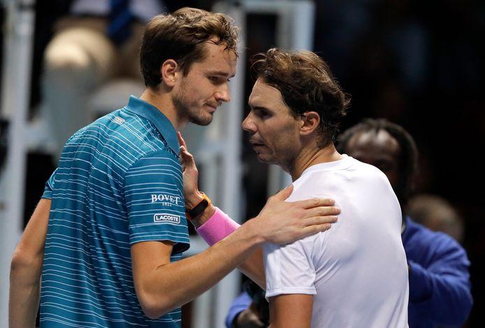 Il y a tout juste un an, Daniil Medvedev avait fait douter Rafael Nadal, en finale de l'US Open.