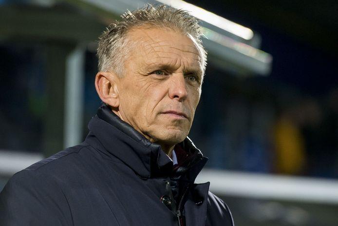 Edward Sturing, de trainer van Vitesse.
