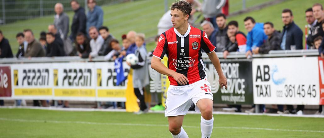 Olivier Boscagli in actie voor OGC Nice.