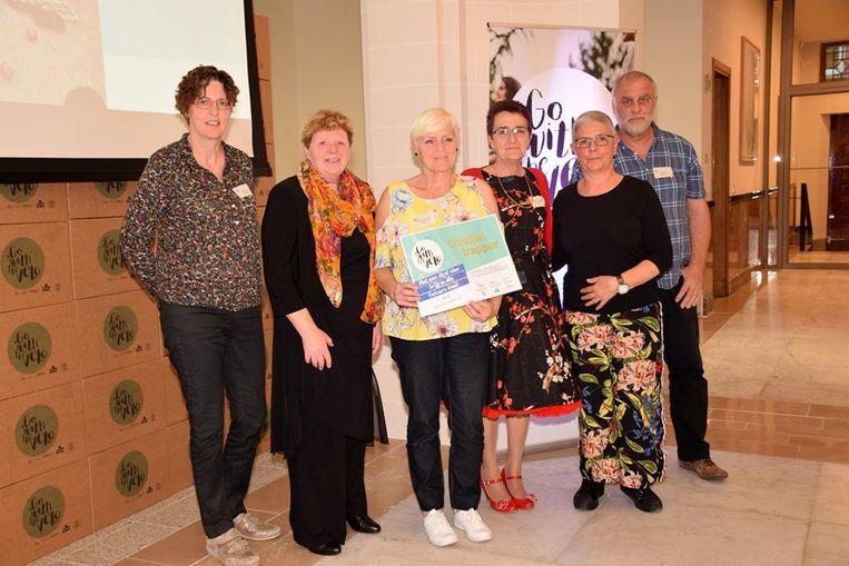 NEOS (Netwerk van Ondernemende Senioren) krijgt de 'Gouden trapper' en een subsidie van 1.250 euro voor 'Go with the velo'.