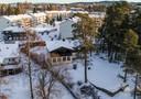 Het huis van de Noorse miljardair Tom Hagen en zijn echtgenote in Fjellhamar, 15 kilometer ten noorden van Oslo