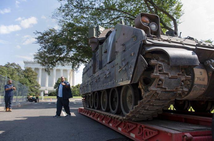 En daar horen ook tanks bij.