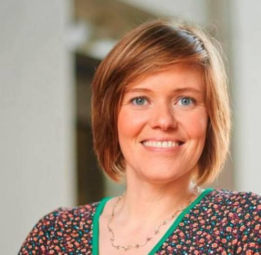 Burgemeester Tinne Rombouts van Hoogstraten