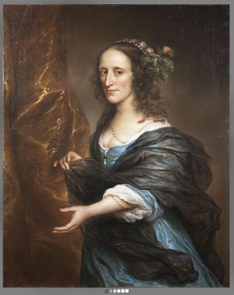 Mogelijk het portret van Petronella van Panhuys. Beeld x