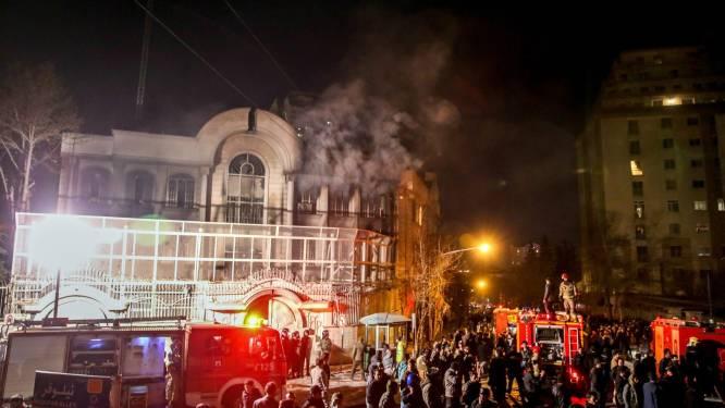 Iran wil aanvallers Saoedische ambassade zwaar straffen