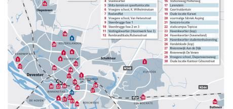 Deventer woningnood: merendeel 3000 nieuwe huizen zijn mogelijk in stad zelf