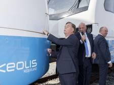 Treinen Keolis krijgen namen vertrokken directeur en gedeputeerde