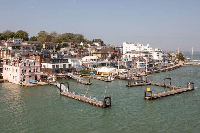 De haven van de Isle of Wight.   Beeld Antonio Olmos