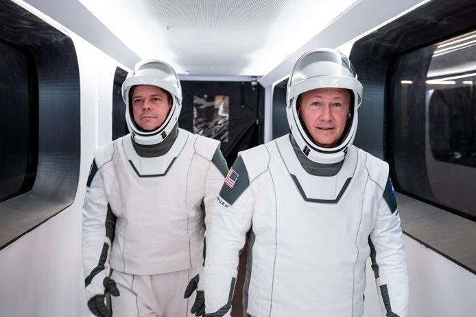 Robert Behnken et Douglas Hurley décolleront le 27 mai prochain