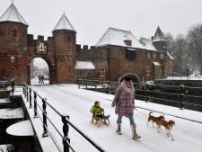 Sneeuwpret én ongevallen door dik pak sneeuw