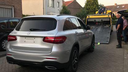 Peperdure, in België gestolen Mercedessen teruggevonden in Nederland dankzij gps