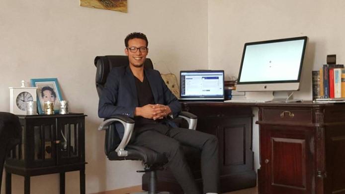 Rachid Khoukhi werkt in Marokko vanwege vooroordelen hier.