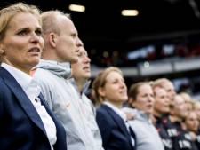 Wiegman looft Martens: 'Pure klasse, wat een goal'