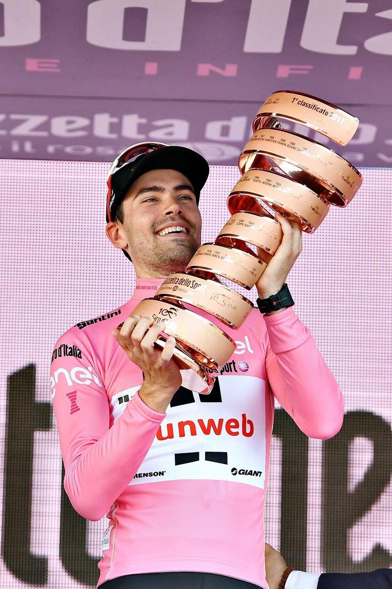 Tom Dumoulin gaat op zoek naar zijn tweede Giro-eindzege.