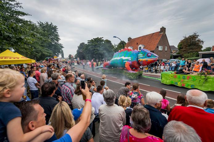 'Kleurrijk Enter' was het thema bij de Enterse Dagen van 2016.