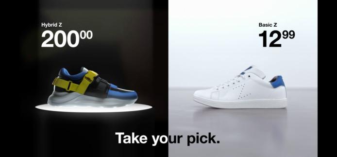 Que cache le prix d'une paire de baskets ?